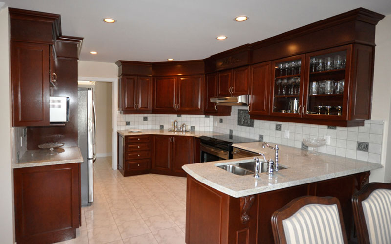 refacing d armoires montr 233 al kitchen cabinets montreal cuisines alpin